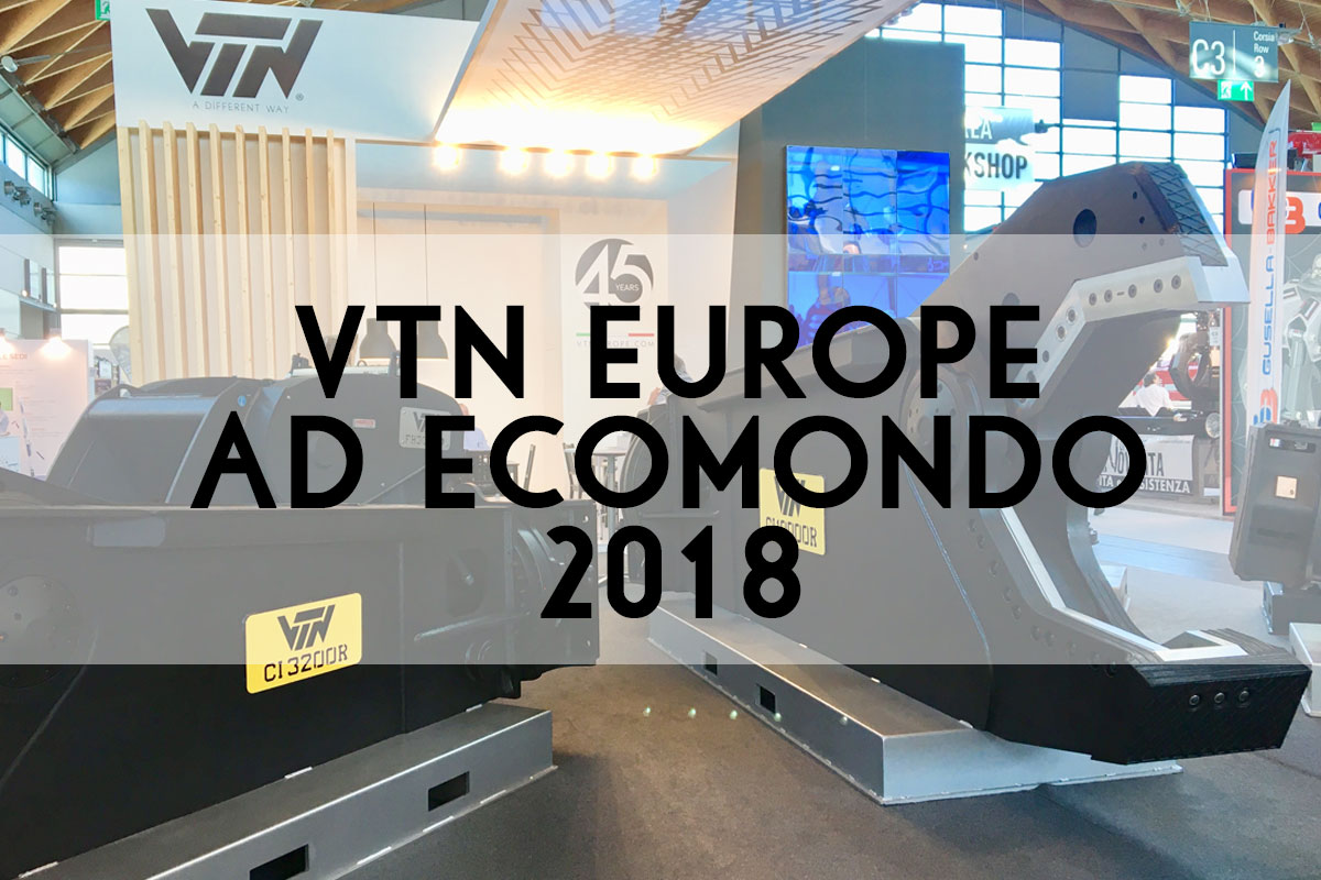 VTN ad Ecomondo 2018