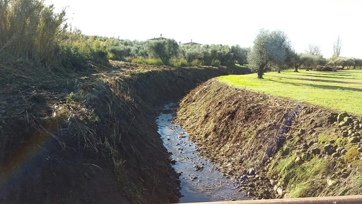 La manutenzione dei fossati