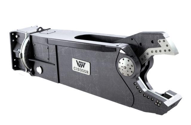 Le cesoie VTN per il taglio del ferro e rottami