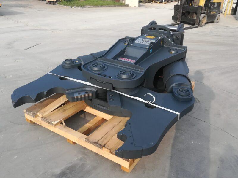 Demolition crusher